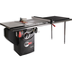 SawStop 1.75 HP Professional Table Saw w/52'' Fence, Rails, and Extension Table