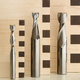 3-Piece Spiral Upcut Bit Set (Includes 1/4