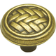 Windsor Antique Catamaran Antique Brass Knob