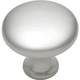 Belwith Conquest Satin Nickel Round Knob, P14255-SN