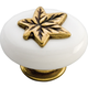 Belwith Country Casual Oval Knob, P3031-LPW