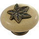 Belwith Country Casual Oval Knob, P3031-WOAO