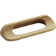 Belwith Natural Woodcraft Cup Pull, P676-UW