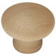 Belwith Natural Woodcraft Knob, P184-UW
