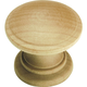 Belwith Natural Woodcraft Knob, P685-UW