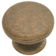 Belwith Oxford Antique Knob, PA1216-WOA