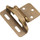 Belwith Partial Wrap  Hinge, 1/4'' Overlay, P60010F-AB