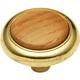 Belwith Woodgrain Knob, P715-OAK