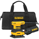 Dewalt D26441K Heavy-Duty 1/4 Sheet Palm Grip Sander Kit