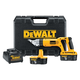 Dewalt DC490KA Heavy-Duty 18V Cordless 18 Gauge Swivel Head and Shear Kit