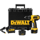 Dewalt DC742VA Heavy-Duty Compact 3/8' 10mm 12V Cordless Drill/Driver Kit with vehicle charger