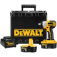 Dewalt DC820KA Heavy-Duty 1/2'' 13mm 18V Impact Wrench Kit