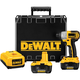Dewalt DC827KL Heavy-Duty 1/4'' 6.4mm 18V Impact Driver Kit with NANO™ Technology