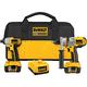 Dewalt DCK275L Heavy-Duty XRP™ 18V Hammerdrill / Impact Driver Combo Kit