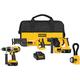 Dewalt DCK452X Heavy-Duty XRP™ 18V Cordless 4-Tool Combo Kit