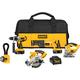 Dewalt DCK550X Heavy-Duty XRP™ 18V Cordless 5-Tool Combo Kit