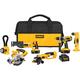 Dewalt DCK650X Heavy-Duty XRP™ 18V Cordless 6-Tool Combo Kit