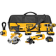 Dewalt DCK655X Heavy-Duty XRP™ 18V Cordless 6-Tool Combo Kit
