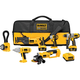 Dewalt DCK675L Heavy-Duty 18V XRP™ Lithium Ion 6-Tool Cordless Combo Kit