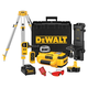 Dewalt DW079KDT Heavy-Duty 18V Self-Leveling Int/Ext Rotary Laser Package