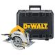 Dewalt DW364K Heavy-Duty 7-1/4'' 184mm Circular Saw Kit with Rear Pivot Depth of Cut Adjustment and Electric Brake