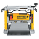 Dewalt DW734 Heavy-Duty 12-1/2'' Thickness Planer with Three Knife Cutter-Head
