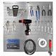 Wall Control Steel Pegboard Organizer Starter Kit