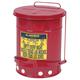 OSHA - Compliant 6 - Gallon Oily Waste Can