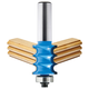 Rockler Triple Bead Router Bit - 7/8