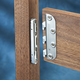 5'' Surface Mounted Bed Rail Brackets