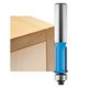 Rockler Flush Trim V-Groove Router Bit - 1/2
