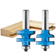 Rockler Traditional Stile and Rail Router Bit - 1-3/8