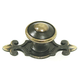 Top Knobs Canterbury Knob with Backplate, M28