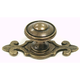 Top Knobs Canterbury Knob with Backplate, M31