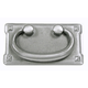 Top Knobs Mission plate Handle, M233
