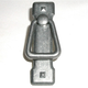 Pewter Light Mission Ring Handle with Backplate