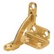 Brusso Solid Brass Quadrant Hinge