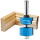 Rockler Reversible Sash & Door Assembly Router Bit - 1-3/8