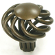 Top Knobs Large Flower Twist Knob, M776