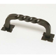 Oil Rubbed Bronze Drop Handle with Backplate