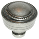 Pewter Antique Contessa Knob