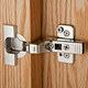 Blum®  95°  Thick Door Clip Top Frameless Inset Hinges