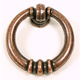 Old English Copper Newton Ring Pull