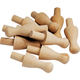 Wooden Game Pegs, Set of 10