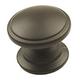 Century Zinc Die Cast, Knob, 1-1/4'' dia.  Oil Rubbed Bronze, 21015-OB