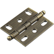 Century Solid Brass, Cabinet Hinge, Weathered Brass, 72042-WB