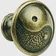 Century Zinc Die Cast, Knob, 1-1/4'' dia. Antique Bronze, 27826-3B