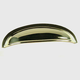 Century Solid Brass, Cup Pull, 3'' c.c. Polished Brass, 13543-3