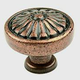 Century Solid Brass, Knob, 1-1/4'' dia. Aged Copper, 15326-AC