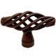 Century Wrought Iron, Knob, 3/4'' dia. Natural Rust, 44001-NR